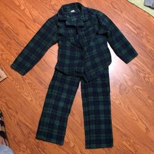 Gap scotch plaid pajamas